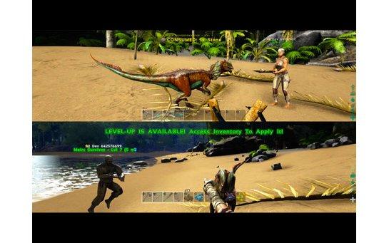 игры для двоих ps4 Ark Survival Evolved