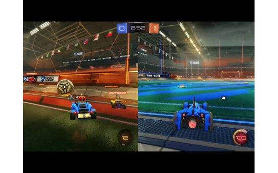 игры для двоих ps4 rocket league