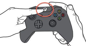 Подключение контроллера Xbox One