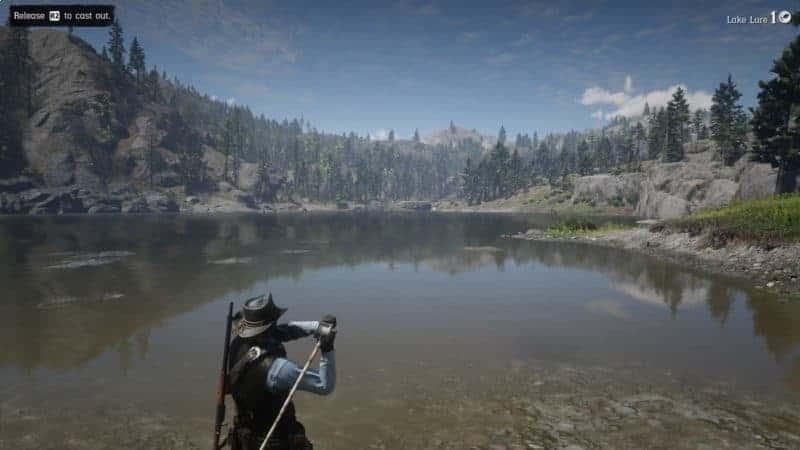 Расположение легендарной рыбы Red Dead Redemption 2