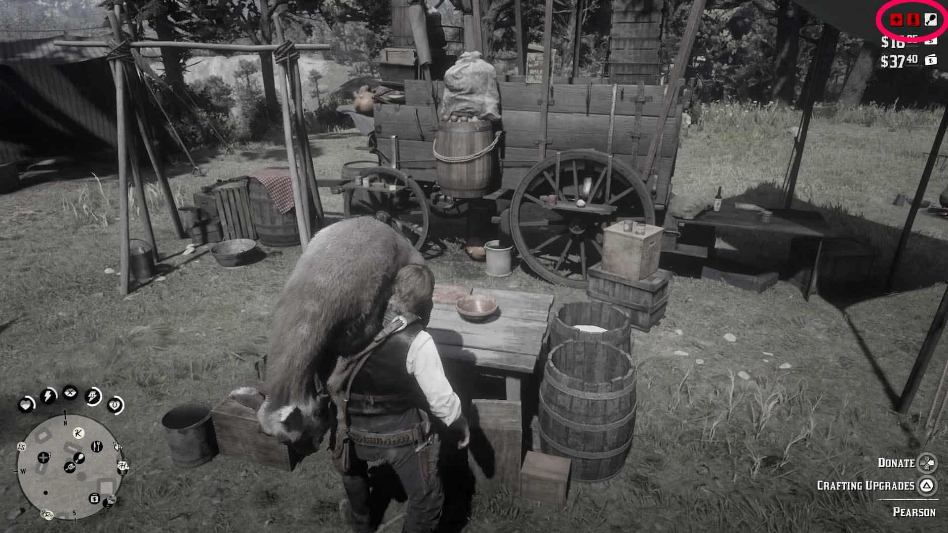red dead redemption 2 лагерь банды