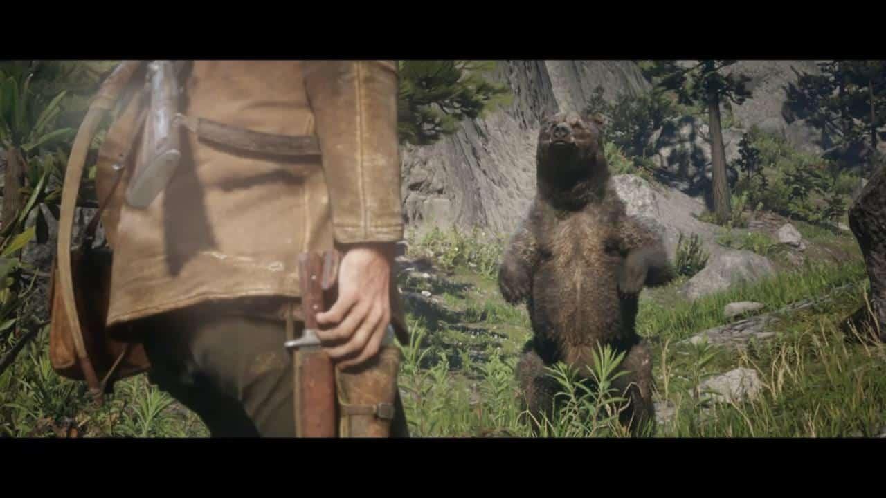 Шкура Легендарного Медведя в Red Dead Redemption 2