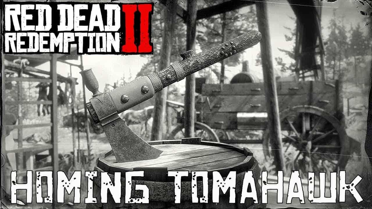 Red Dead Redemption 2 тамогавк