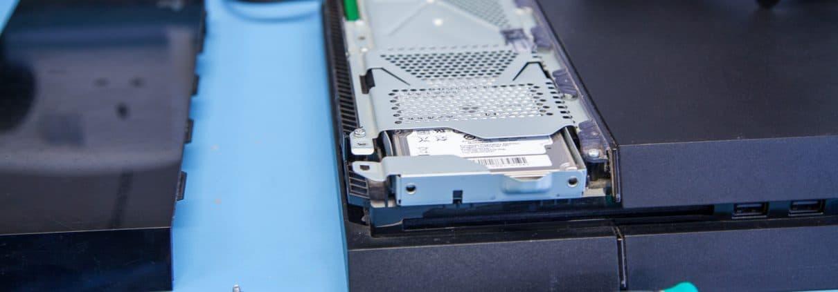 Зависание PS4, вызванное неисправностью жесткого диска