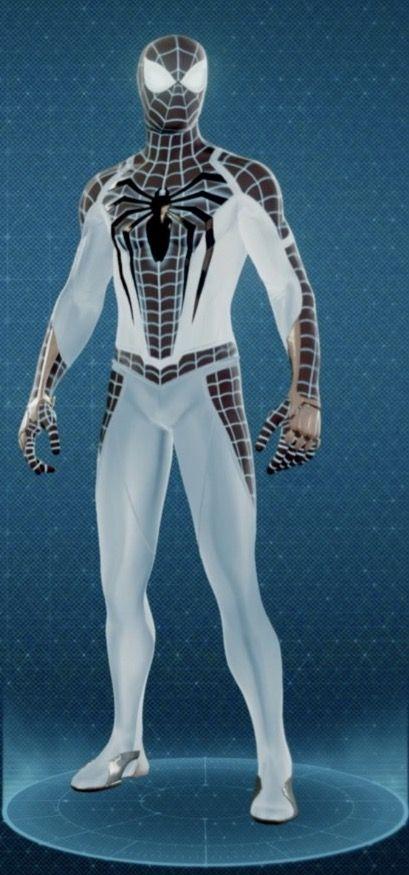 костюм человека паука