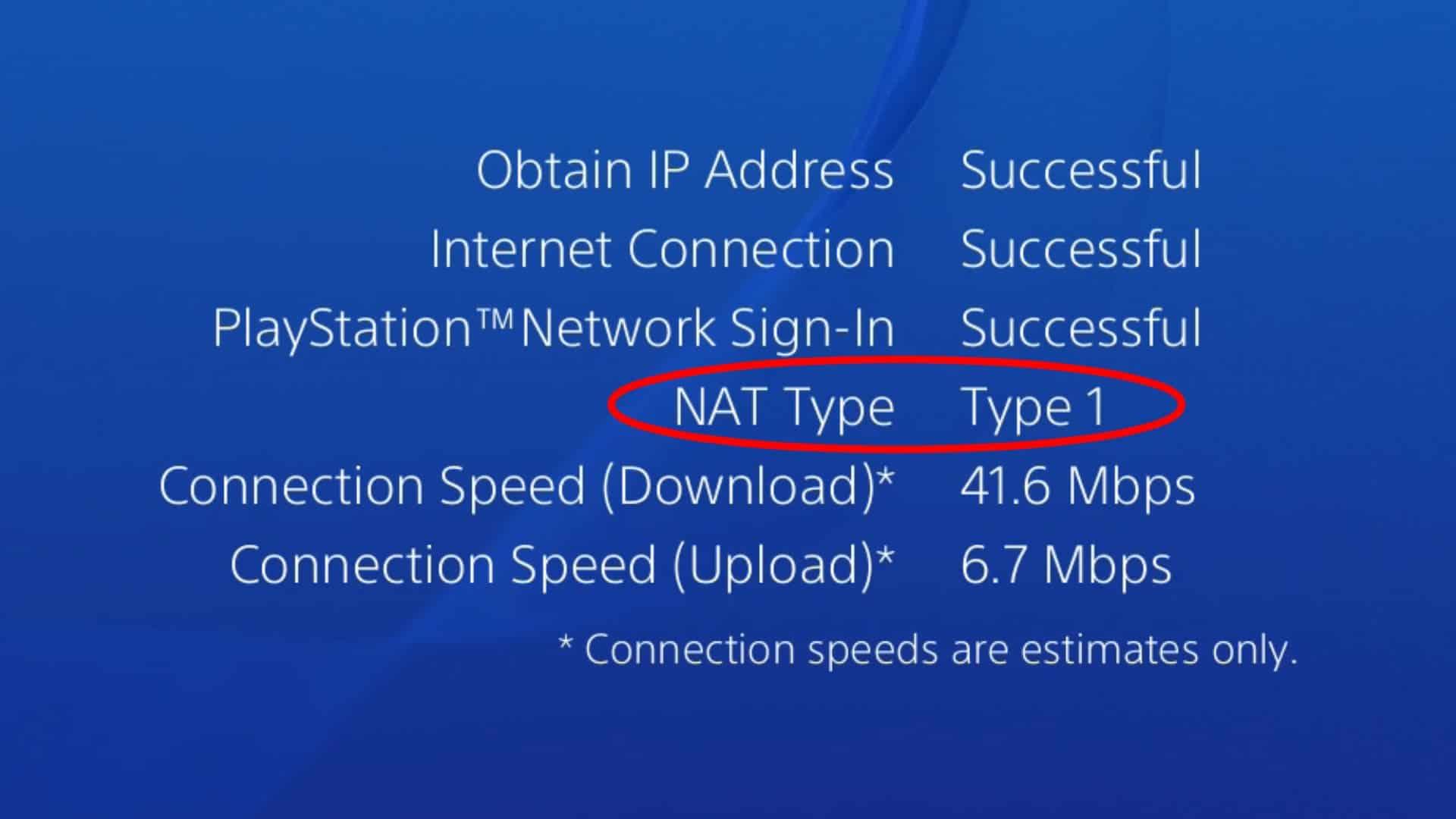 Изменение типа NAT на PS4