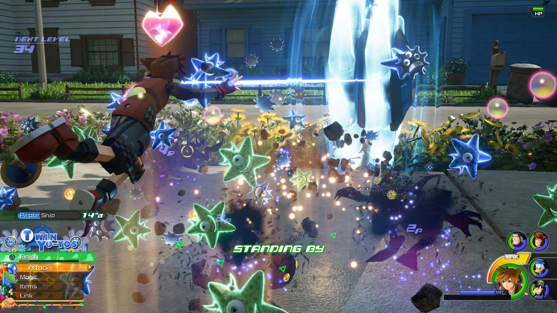 Kingdom-Hearts-III игры для детей ps4