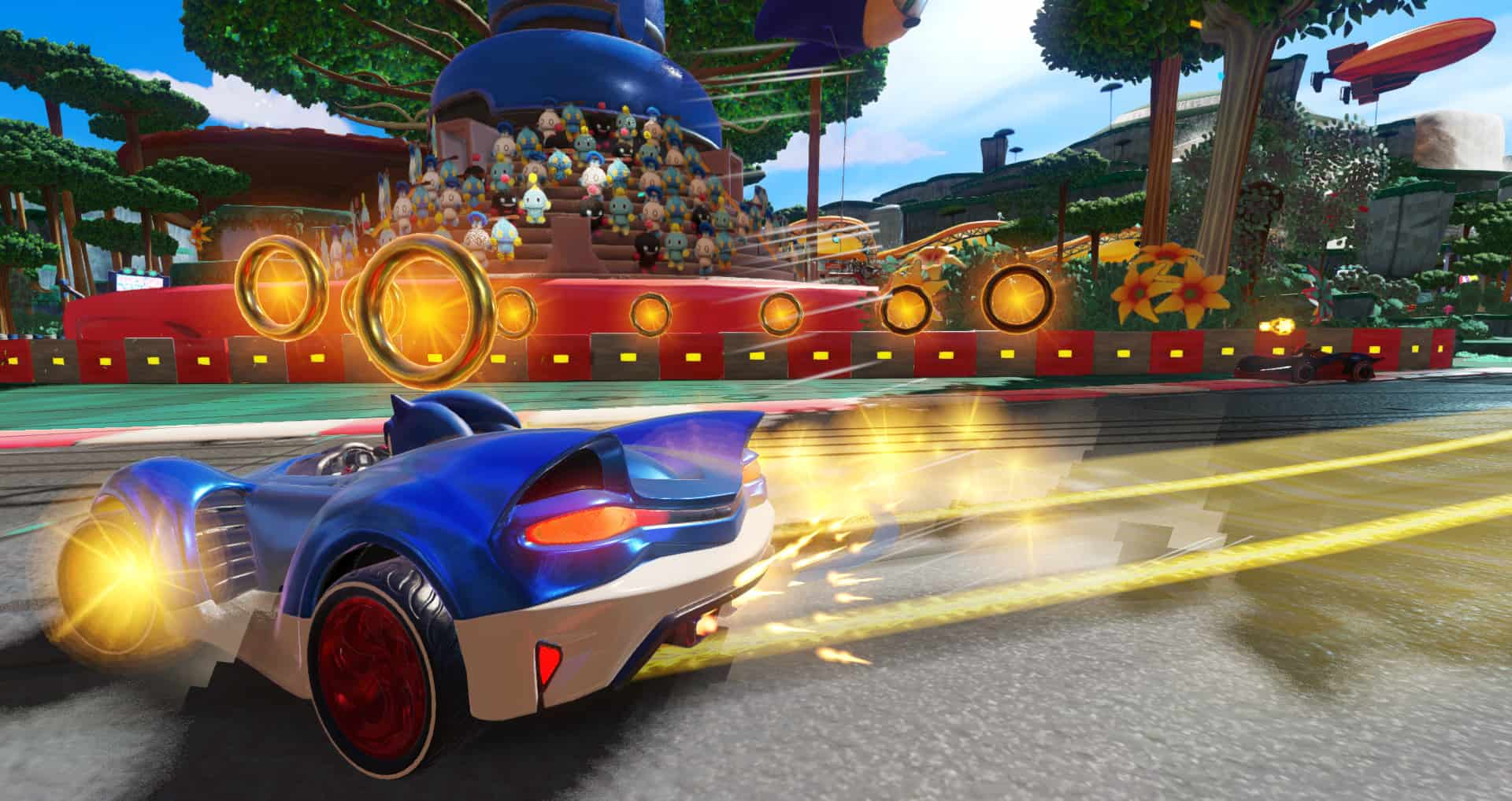 Team-Sonic-Racing игры для детей ps4